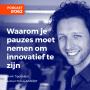 Artwork for #062 Mark Tigchelaar, auteur Focus Aan/Uit - Waarom je pauzes moet nemen om innovatief te zijn