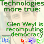 Artwork for Technologies more true: Glen Weyl is recomputing democracy - Computing Up Twenty-Sixth Conversation