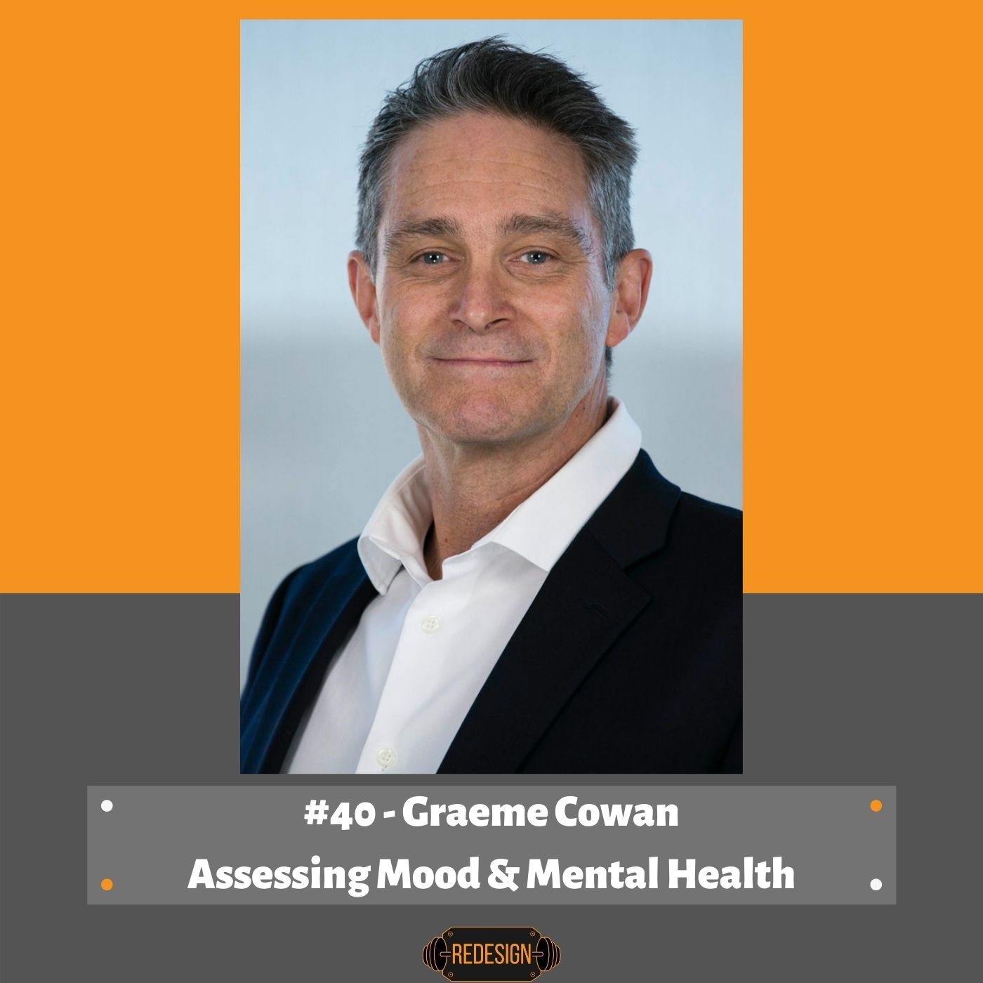 Episode 040 - Graeme Cowan on  RUOK, Assessing Mood, Mental Health & Resilience