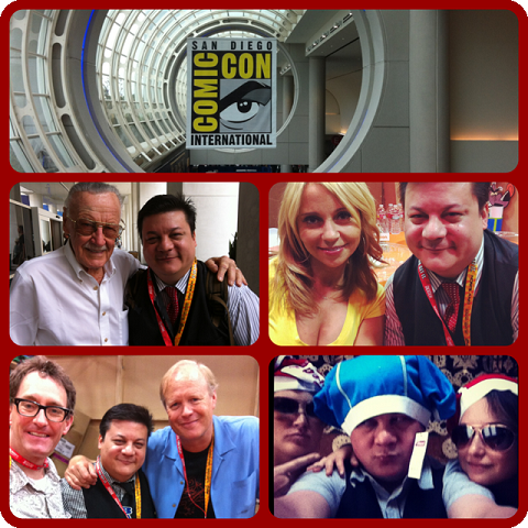 Episode 418 - San Diego Comic Con Madness with Stan Lee, Tom Kenny & Bill Fagerbakke (SpongeBob & Patrick), Tara Strong (Twilight Sparkle, Batgirl, Bubbles), and Alexandre Philippe (Doc of the Dead)