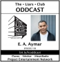 Artwork for The Liars Club Oddcast # 108 | E.A. Aymar, Hard-Boiled Crime Writer