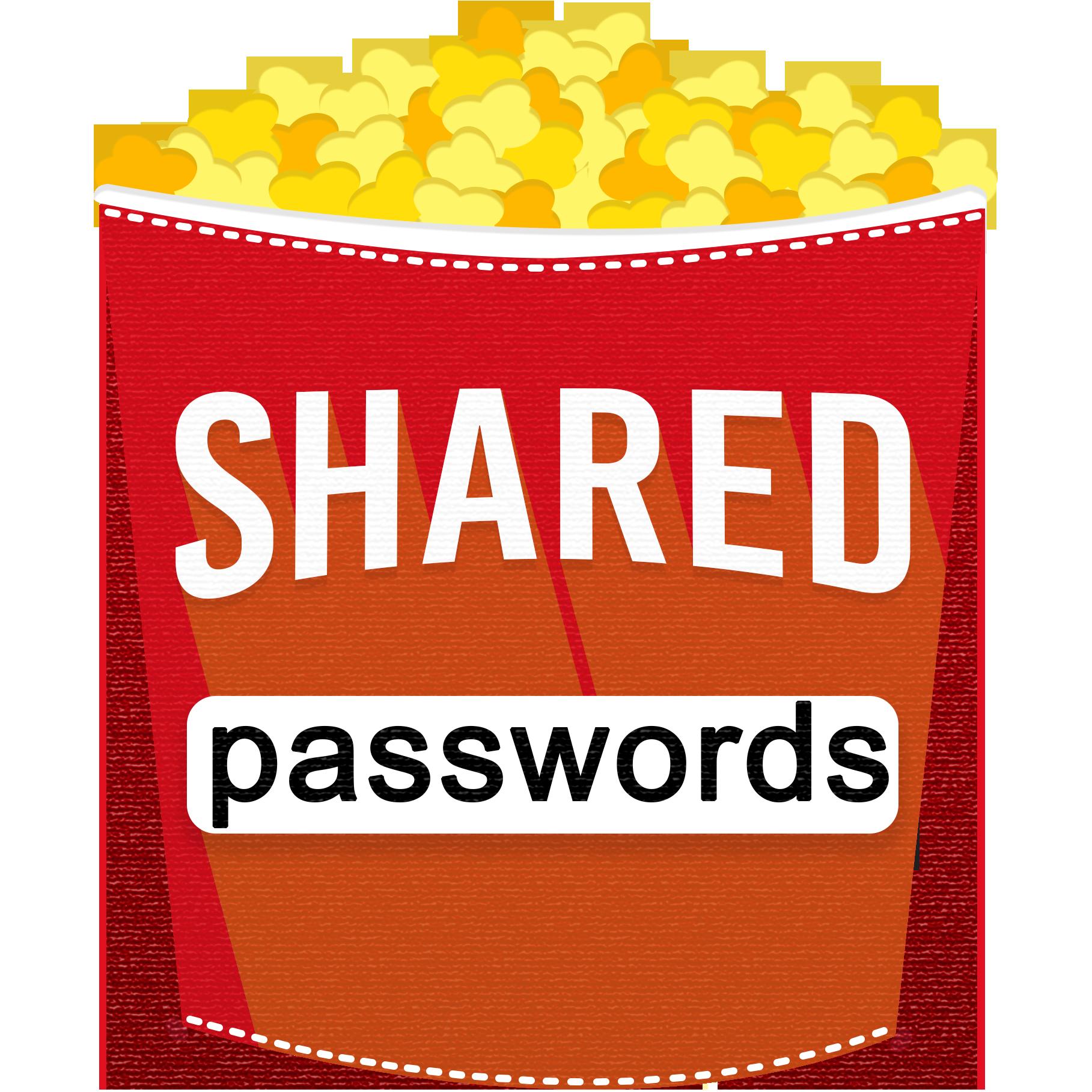 Shared Passwords show art