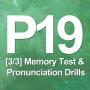 Artwork for P19 [3/3] Memory Test & Pronunciation Drills