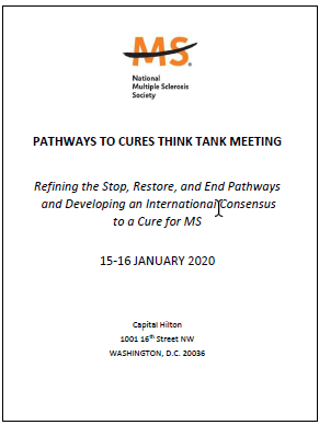 Pathways to Cures Think Tank