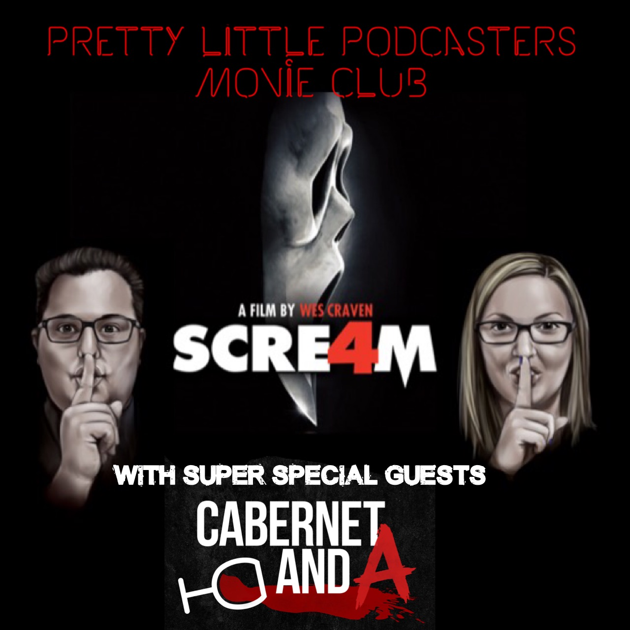 """PLP Movie Club: """"Scream 4"""" with special guests CAbernet And A!!"""