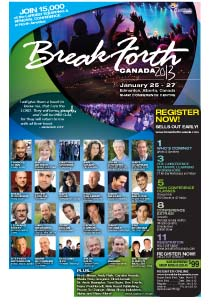 Break Forth Canada 2013 Main Conference Brochure (low resolution)