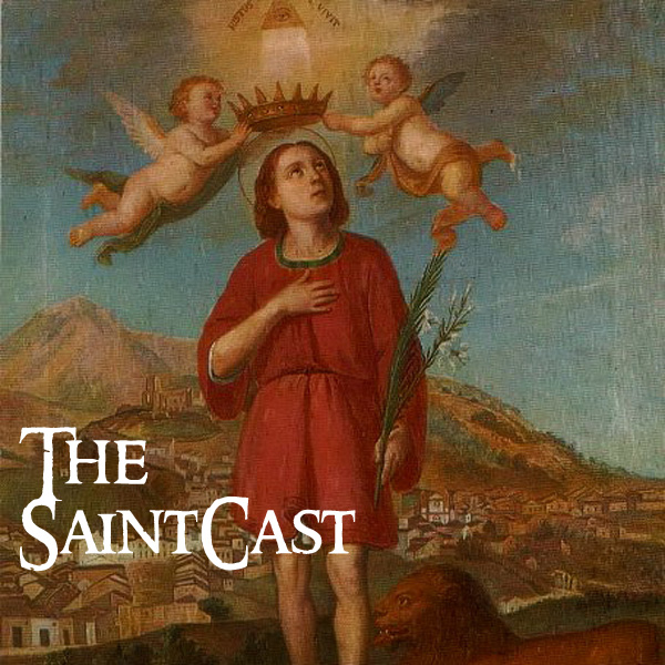 SaintCast #123, Justin Martyr, iBreviary, soundseeing in Rome, Catholic New Media awards, feedback +1.312.235.2278