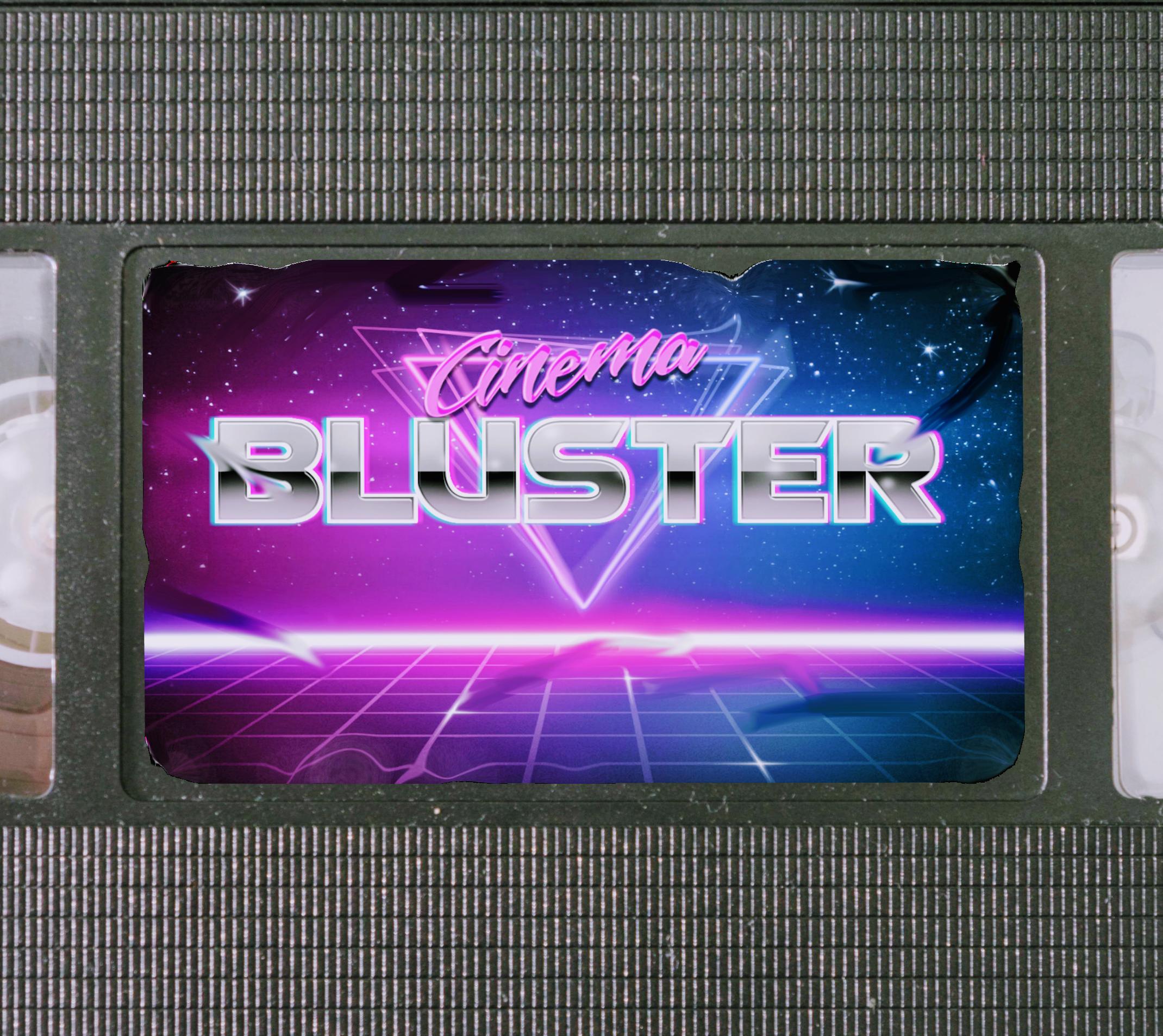 Cinema Bluster show art