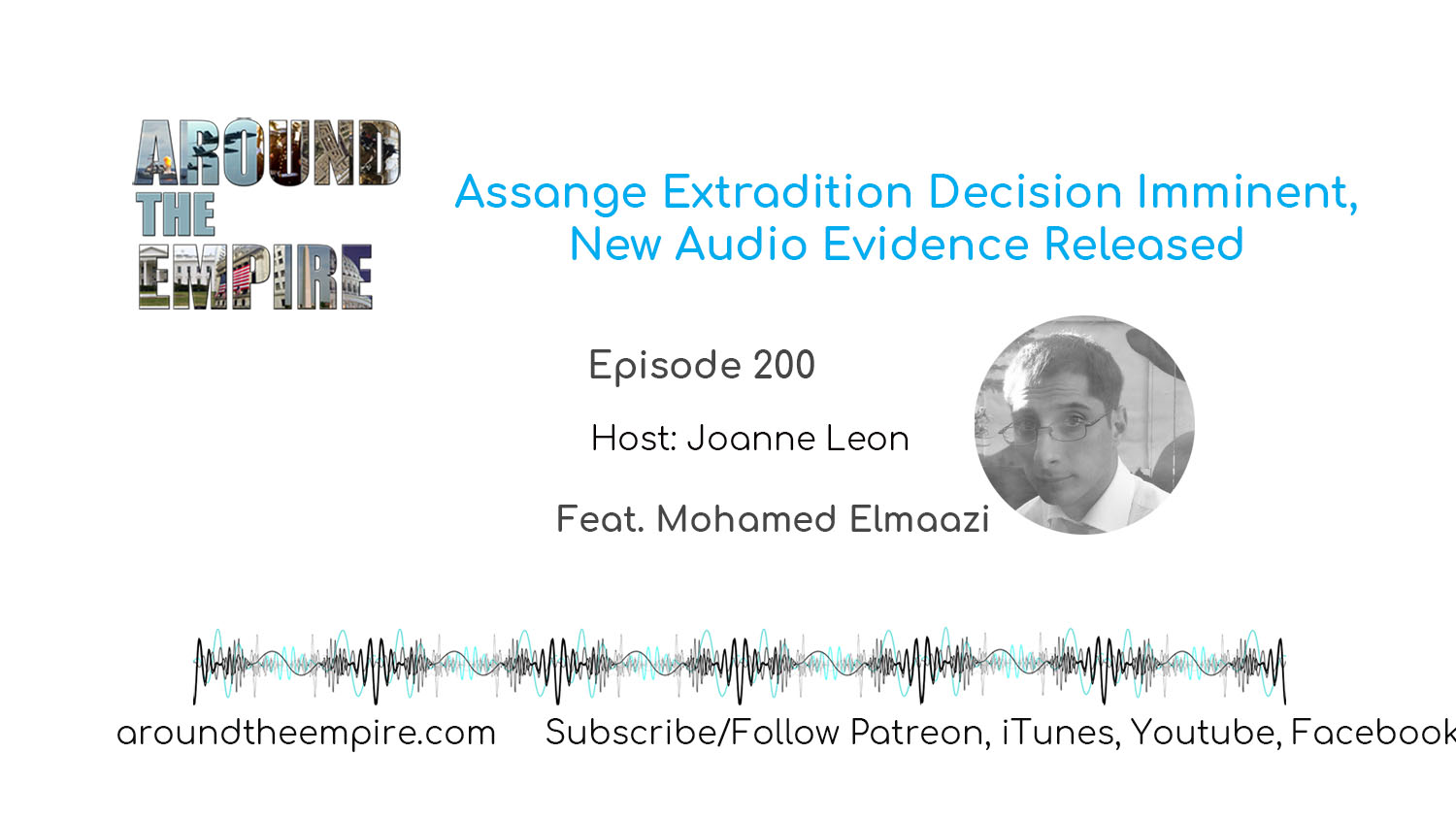 Ep 200 Assange Extradition Decision Imminent New Audio Evidence Released feat Mohamed Elmaazi