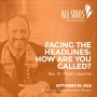 Artwork for 'FACING THE HEADLINES: HOW ARE YOU CALLED?' - A homily by Rev. Dr. Marlin Lavanhar (Contemporary Service)