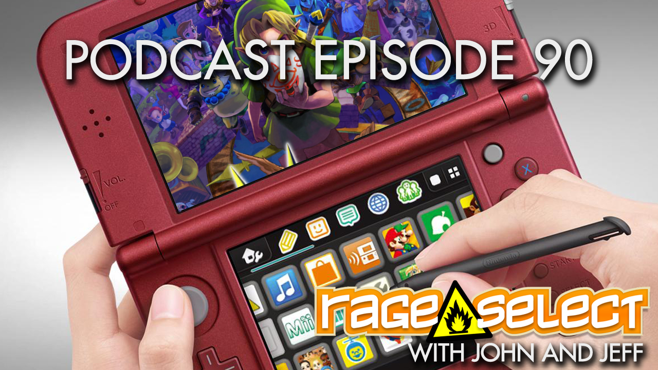 Rage Select Podcast Episode 90 - John and Jeff answer your questions!