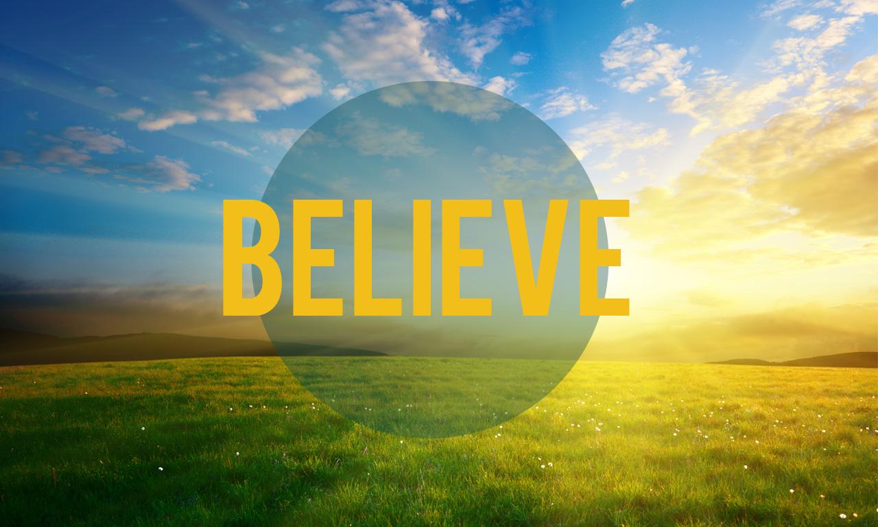 Believe: John 13   2-3-13