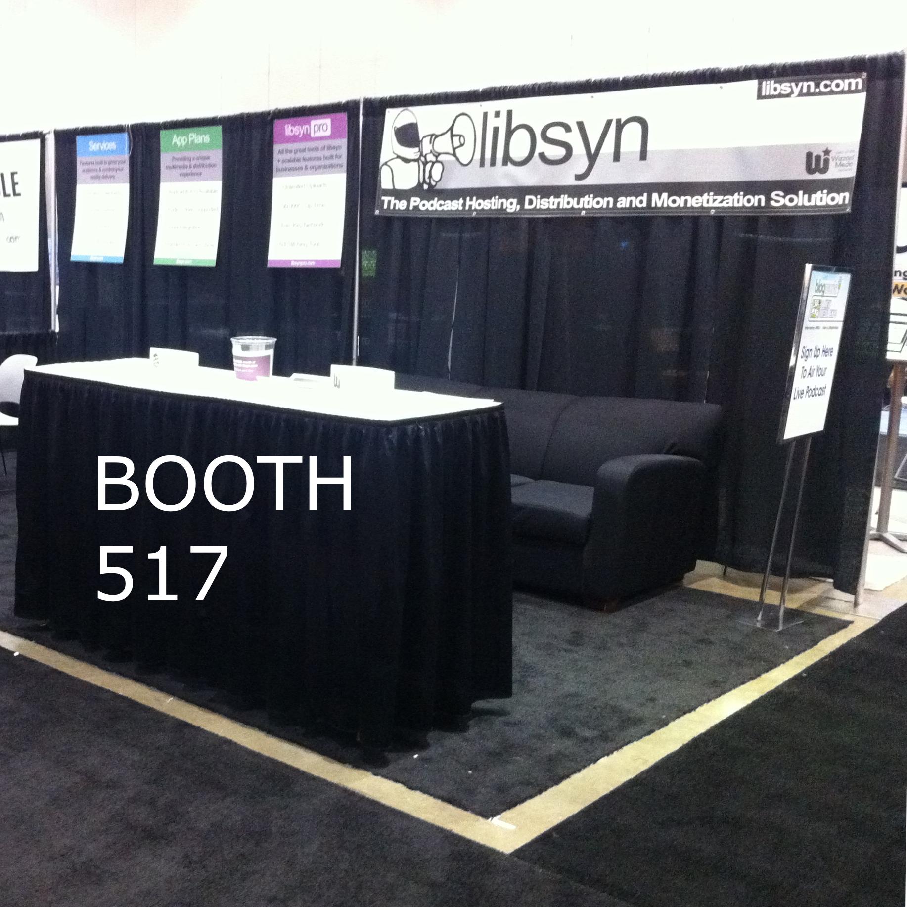 Libsyn will be at the New Media Expo on January 2012