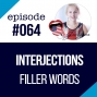 Artwork for #064  Interjections (Filler words) in English