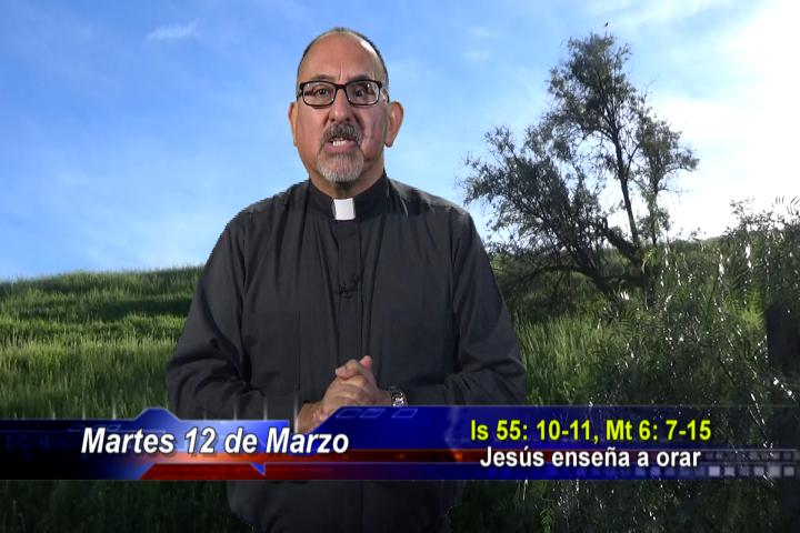 Artwork for Dios te Habla con Fr. Roberto Flores, SVD; Tema el hoy: Jesús enseña a orar