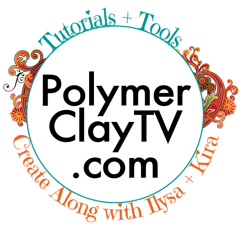 Polymer Clay TV Creating with Stencils and Demonstration