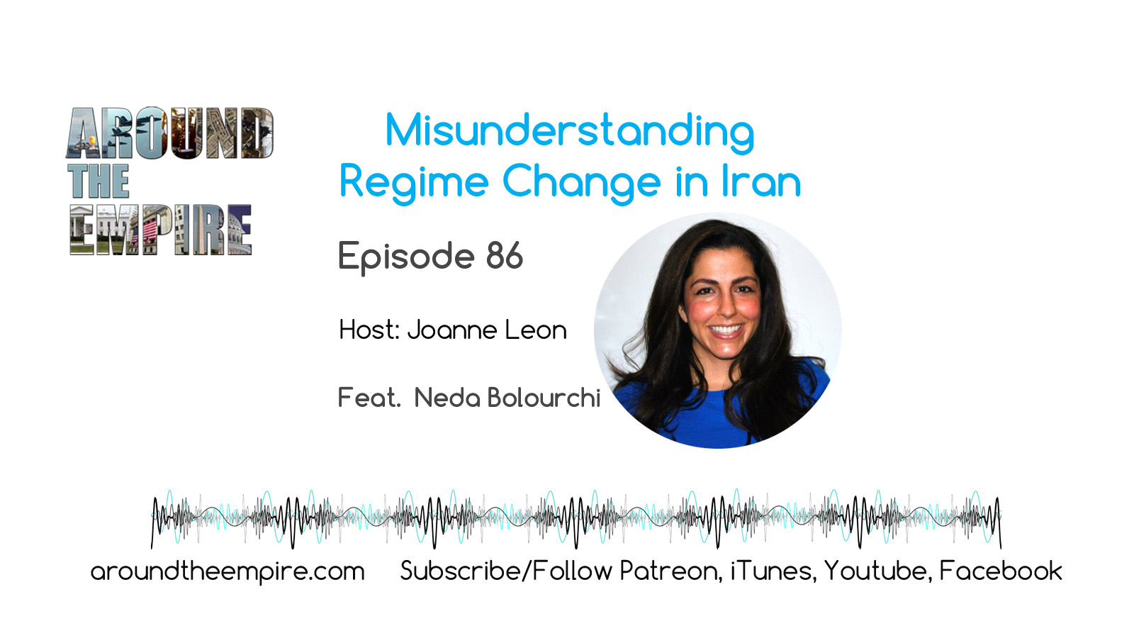 Ep86 Misunderstanding Iran Regime Change feat Neda Bolourchi