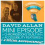 Artwork for Mini011 - David Allan - Chromebook Accessibility Features + a Special Announcement