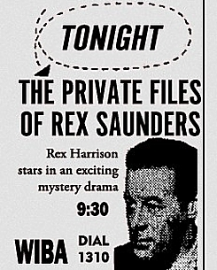 142-130204 In the Old-Time Radio Corner - The Private Files of Rex Saunders