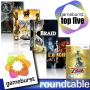 Artwork for GameBurst Roundtable - Top 5 Overrated Games