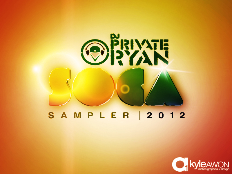 Private Ryan Presents Soca 2012 Sampler (Preview to Soca Brainwash 2012)