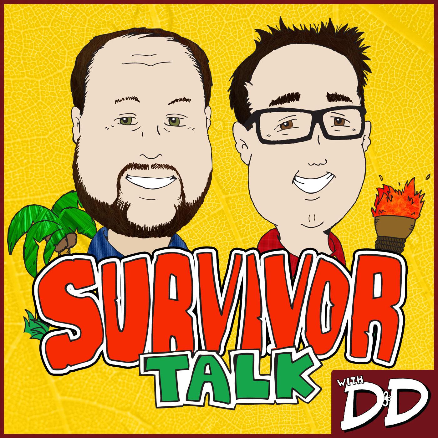 Survivor Talk with D&D show art