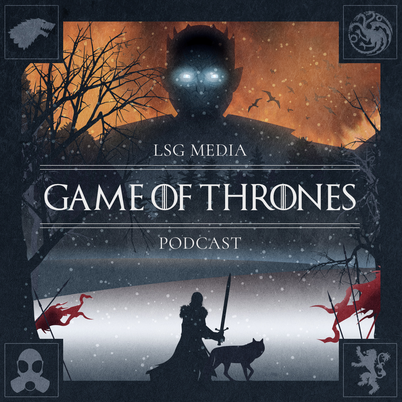Game of Thrones Podcast show art