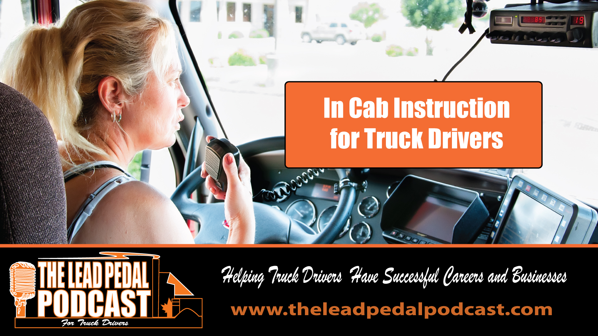 LP596 What Does It Take to Be a Successful In Cab Instructor