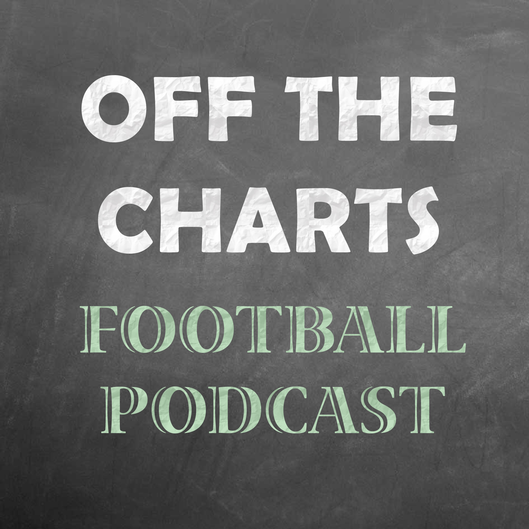 Artwork for Off The Charts Football Podcast - Week 13 2016