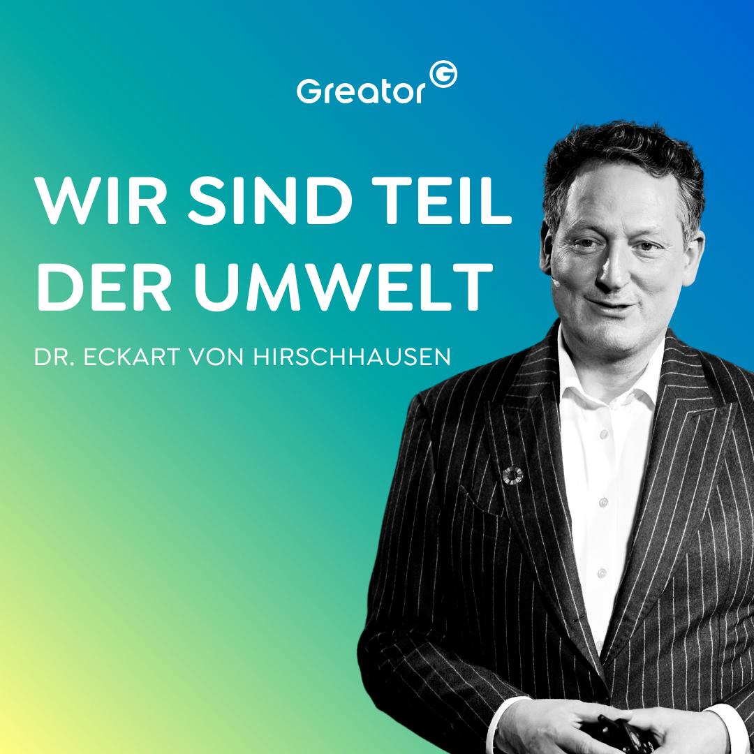 #783 Klimawandel: Jeder kann Teil der Lösung werden // Dr. Eckart von Hirschhausen