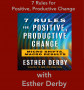 Artwork for 7 Rules for Positive, Productive Change with Esther Derby