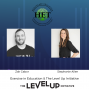 Artwork for Steph Allen & Zak Gabor- Exercise in Education and The Level Up Initiative