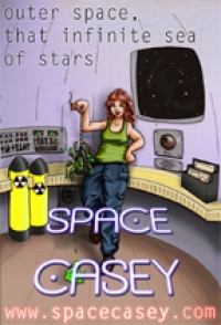 Cover for 'Space Casey'