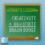 Artwork for Boost Brainpower By Blending Creativity and Difficulty