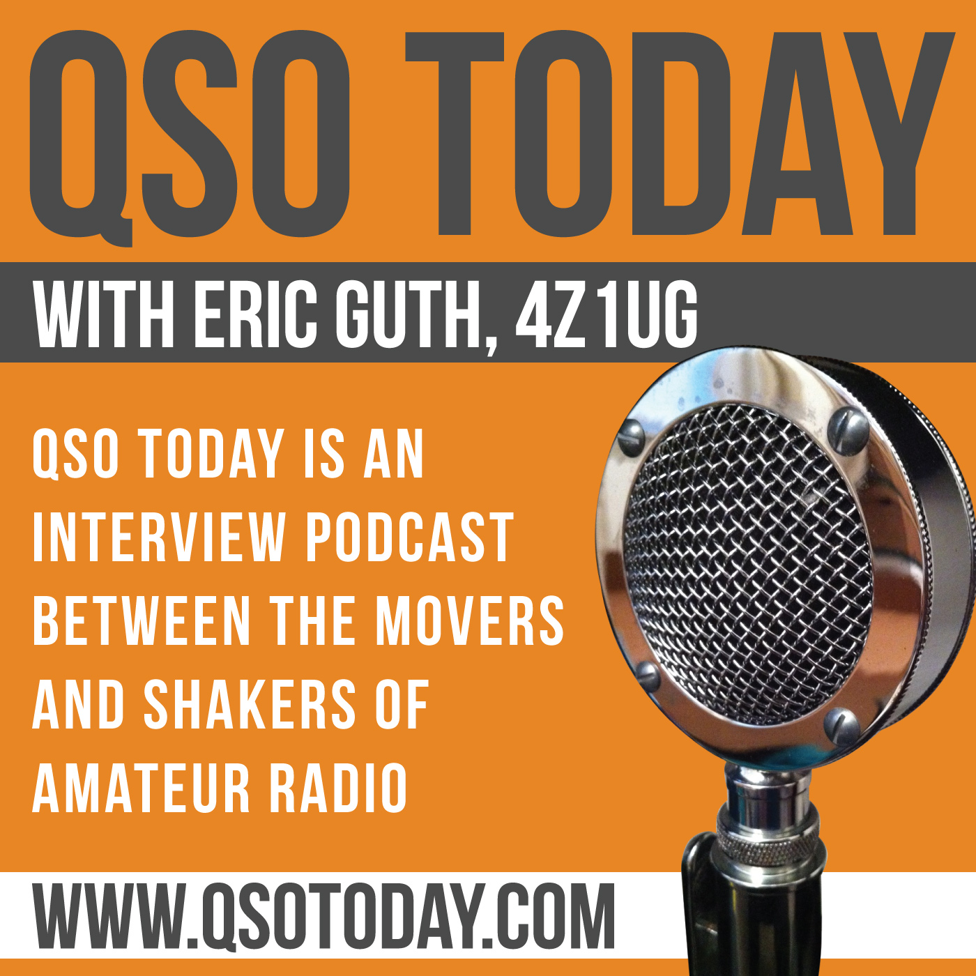 QSO Today Podcast - Interviews with the leaders in amateur radio show art