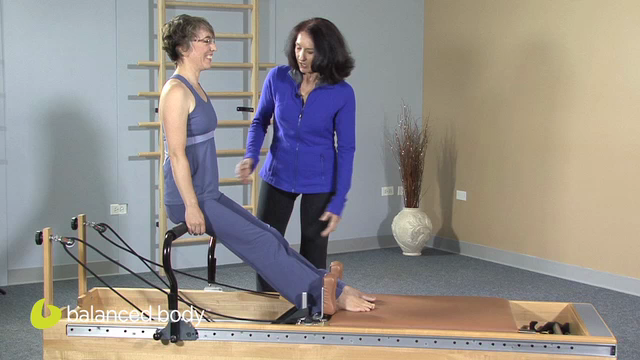 Artwork for Pilates Rehab : E11 :  Seated Hamstring Work with the Infinity Footbar