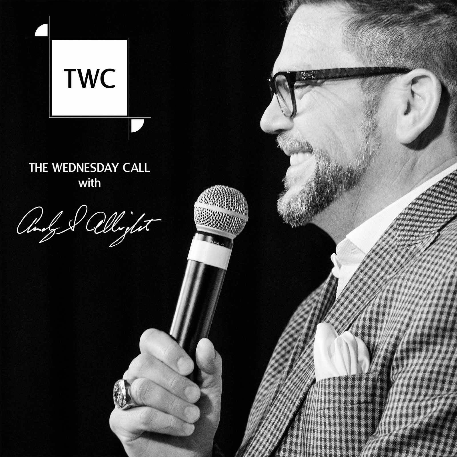 The Wednesday Call with Andy Albright show art