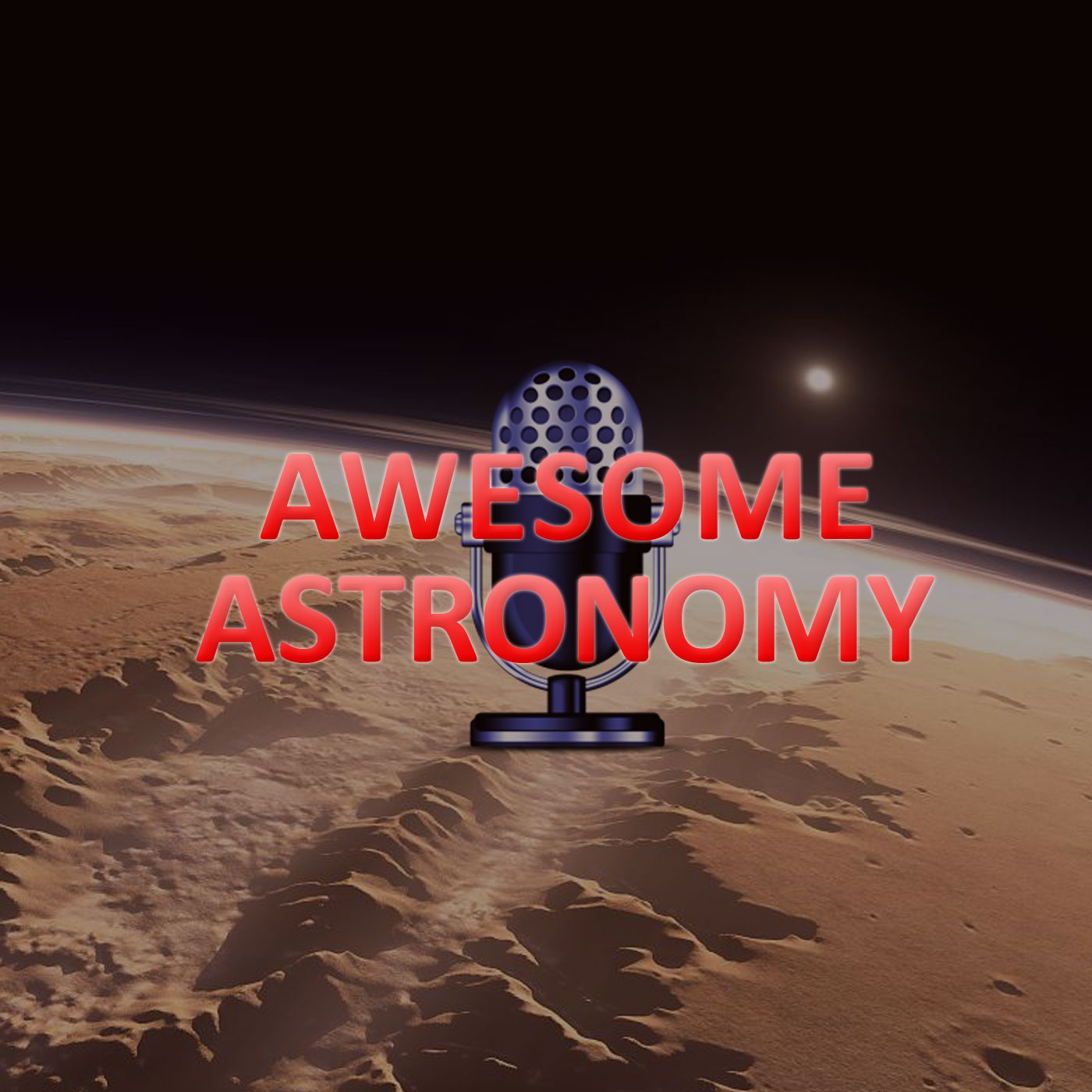 AWESOME ASTRONOMY show art