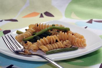 Rotini con Fagiolini