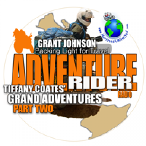 Tiffany Coates Grand Adventure Part 2, Packing Light Avoids Travel Mistakes, Mototourer - The New Facebook of Biking?