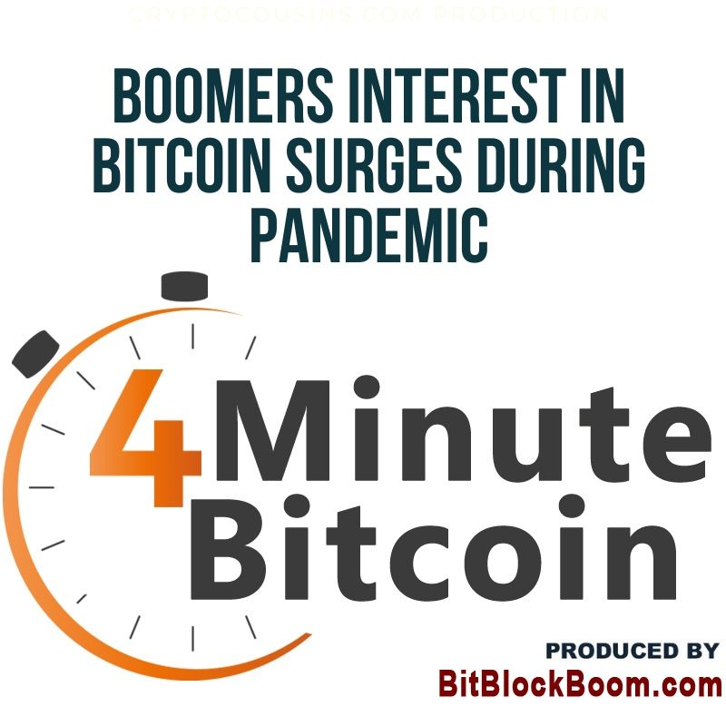 Boomers Interest in Bitcoin Surges During Pandemic