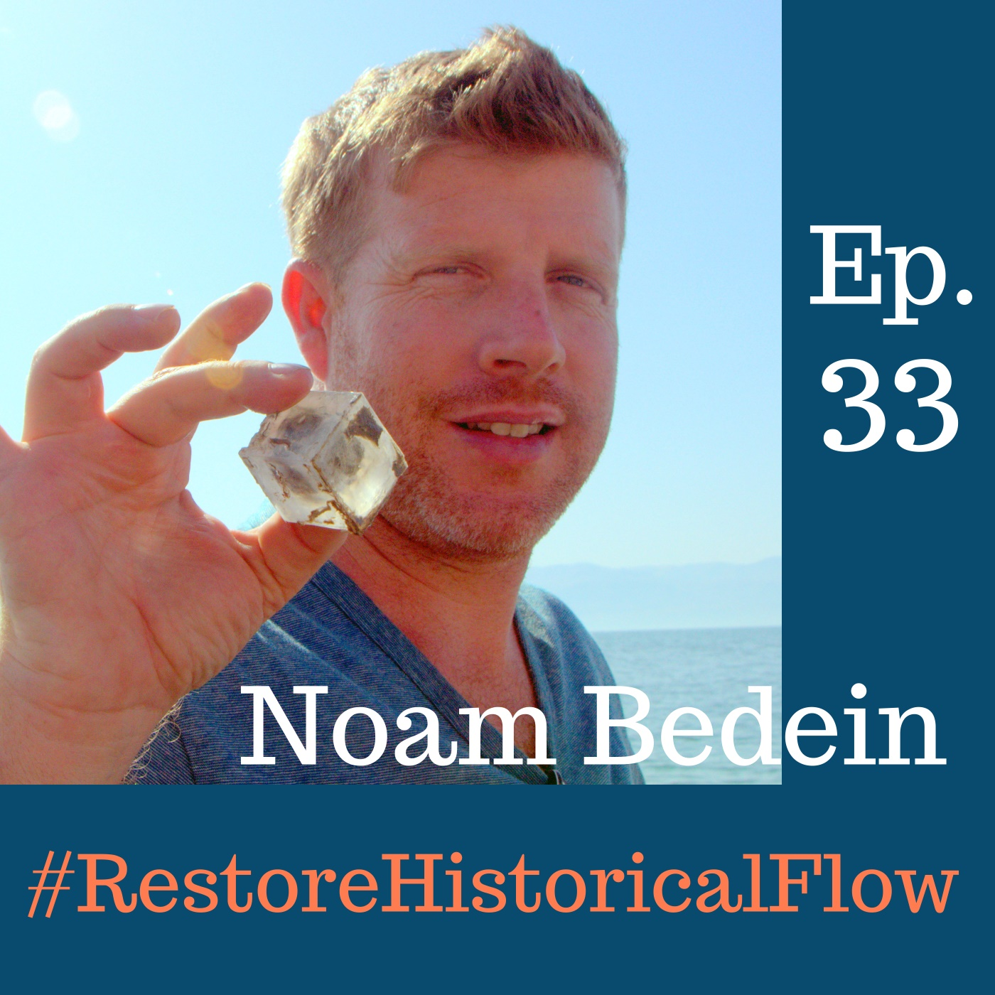 Ep. 33 Photographic Story Teller Noam Bedein Advocates Dead Sea Revival