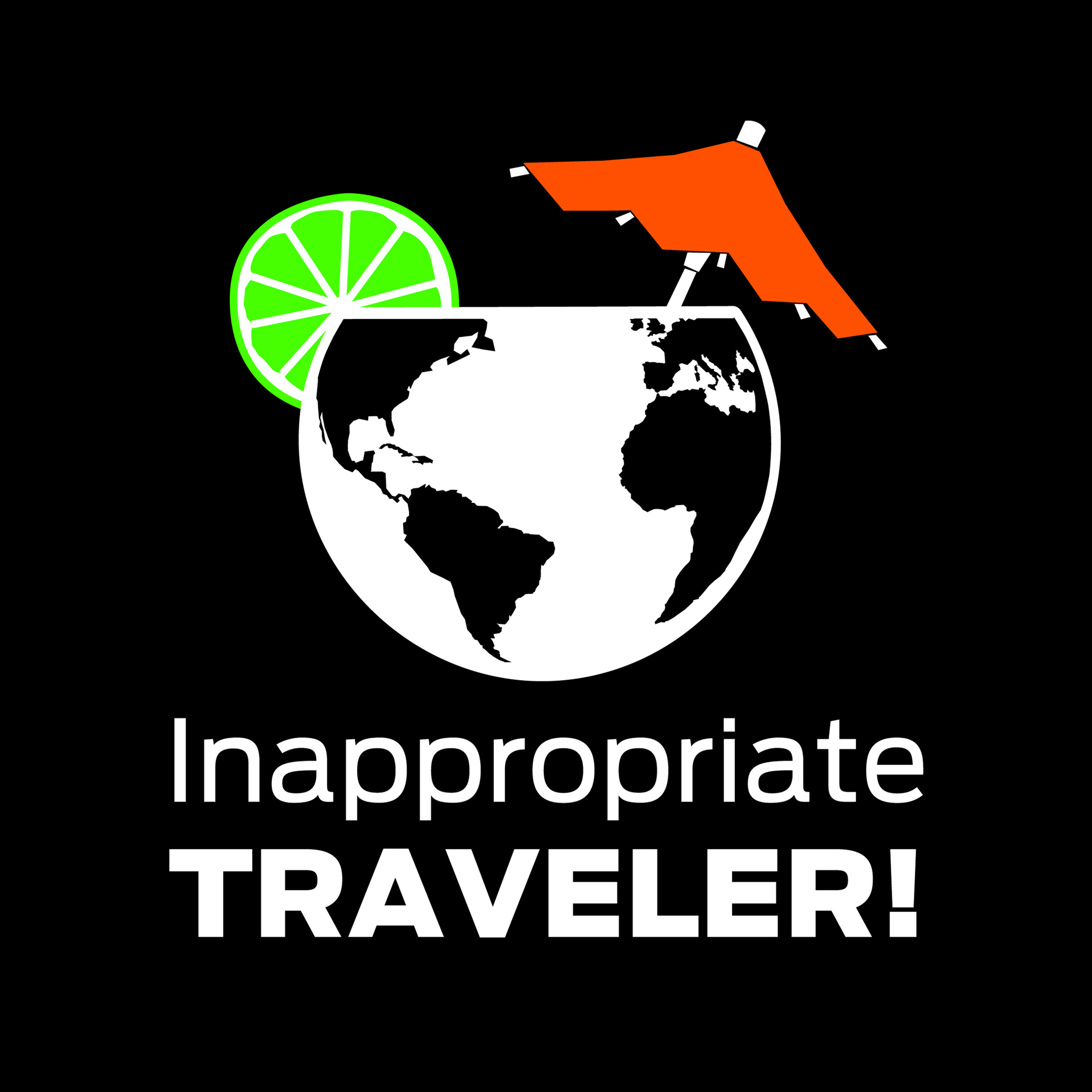 Inappropriate Traveler Travel Podcast show art