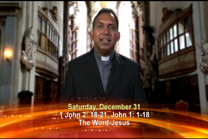 Artwork for Saturday, December 31, 2016 Today's topic: The Word-Jesus