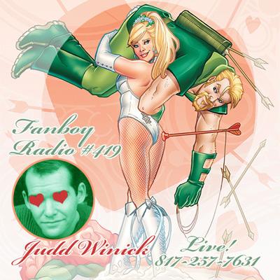Fanboy Radio #419 - Judd Winick LIVE