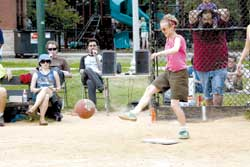 MORE KICKBALL NEWS
