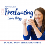 Artwork for How to Handle Slow Seasons in Your Freelance Business...6 Things To Do-EP074