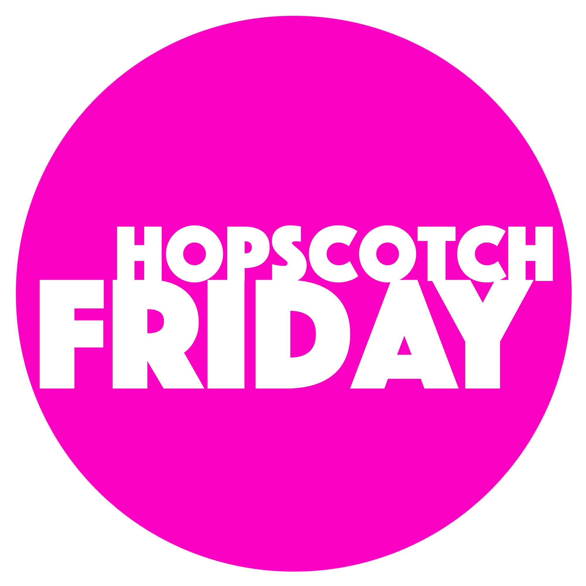 The Hopscotch Friday Podcast logo