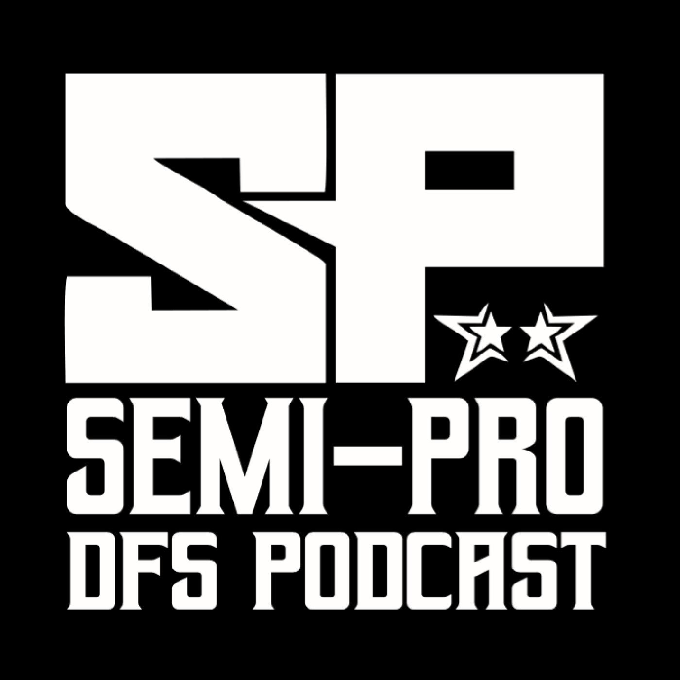 Semi-Pro DFS Podcast show art