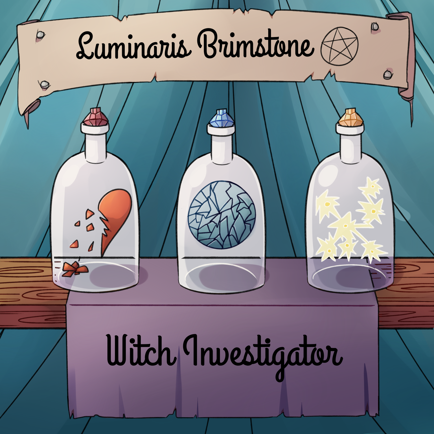 """""""    Luminaris Brimstone, Witch Investigator (Preview: Coming Soon)"""" Podcast"""